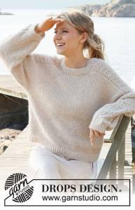Bilde av Bronze Summer Sweater by DROPS Design